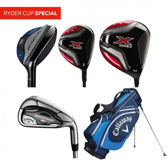 XR Steelhead/X Series Complete Golf Set