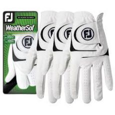 Weather Sof 3 pack Gloves