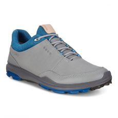 Biom Hybrid 3 Goretex Mens Golf Shoes Grey/Blue