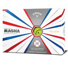 Supersoft Magna Yellow Golf Balls